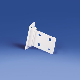 CLIP FOR CARDBOARD SHELVES - SIZE MM. 57 X 45