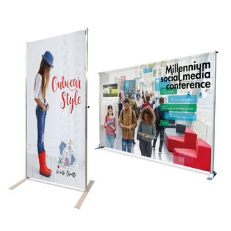 TELESCOPIC WALL BANNERS