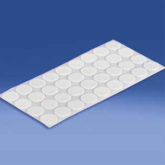 ROUND, OVAL AND ELLIPTIC DOUBLE-SIDED FOAM ADHESIVE PADS