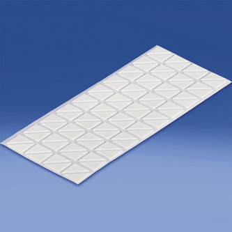 TRIANGULAR AND SHAPED DOUBLE-SIDED FOAM ADHESIVE PADS