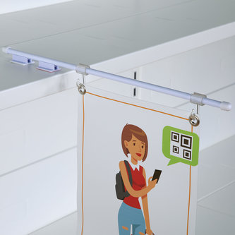 BANNER HOLDERS WITH HOOKS