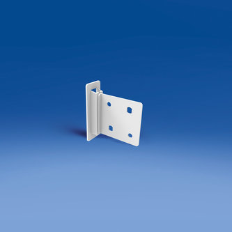 CLIP FOR CARDBOARD SHELVES - SIZE MM. 55 X 55