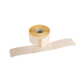 ROLLS SELF-ADHESIVE LABELS TO USE WITHOUT THERMAL TRANSFER RIBBON