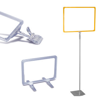 PLASTIC FRAMES AND TELESCOPIC POLES