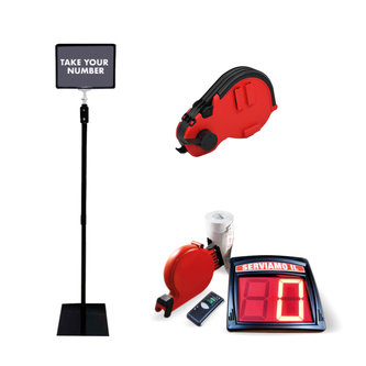 ELECTRONIC QUEUE MANAGEMENT SYSTEM KITS