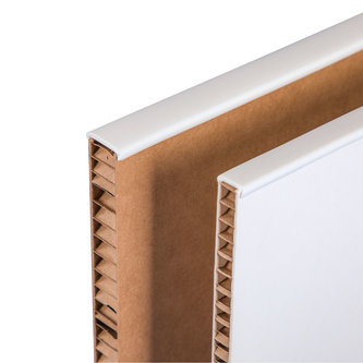EDGE PROFILES FOR HONEYCOMB CARDBOARD